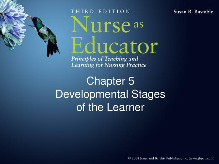 chapter 5 developmental stages of the learner n.