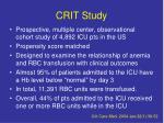 crit study