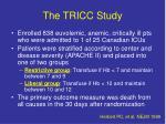 the tricc study