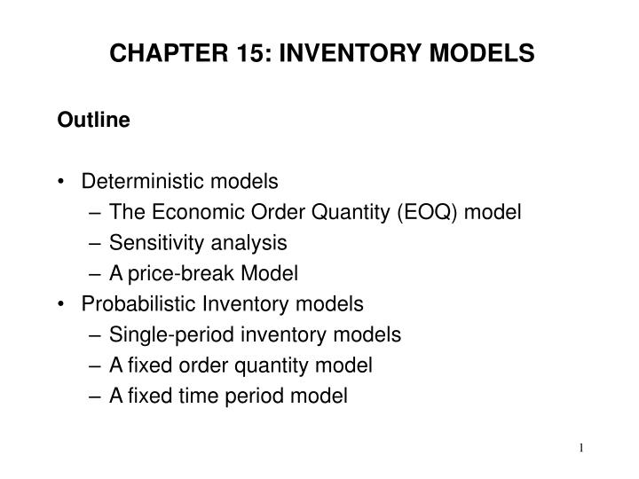 chapter 15 inventory models n.