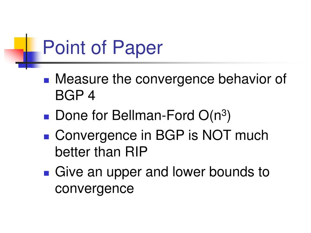 Point of Paper