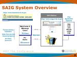 saig system overview