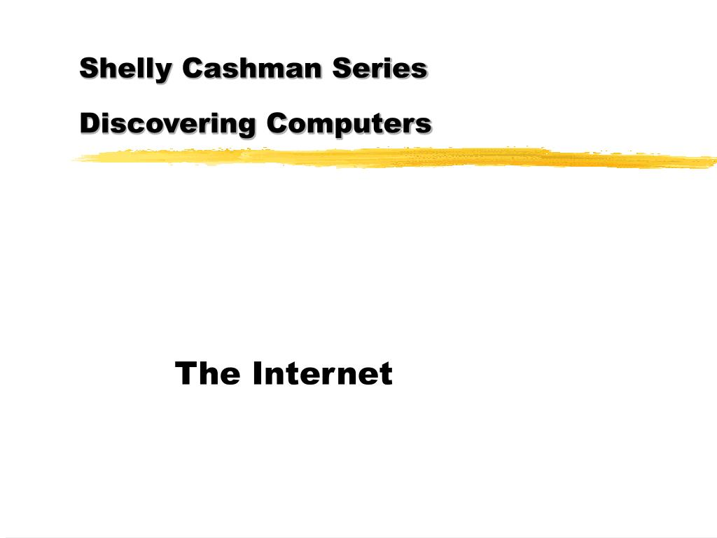 shelly cashman series discovering computers l.