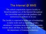 the internet @ mhs2