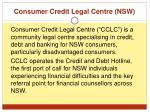 consumer credit legal centre nsw