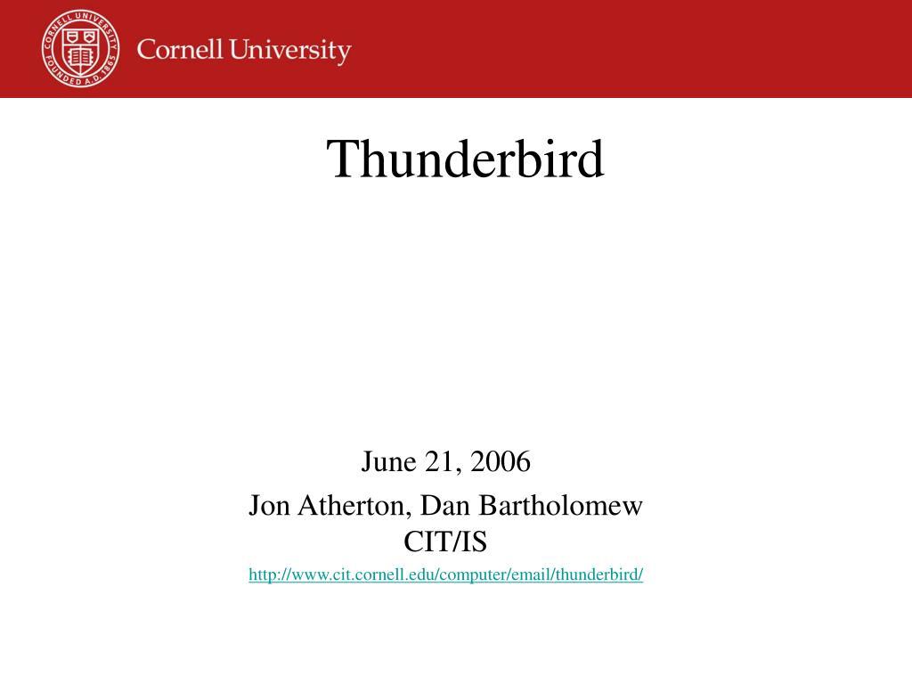 thunderbird l.