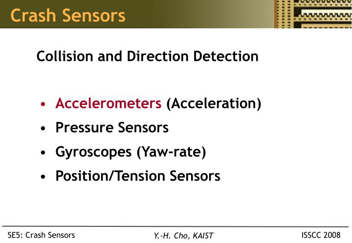 Crash Sensors