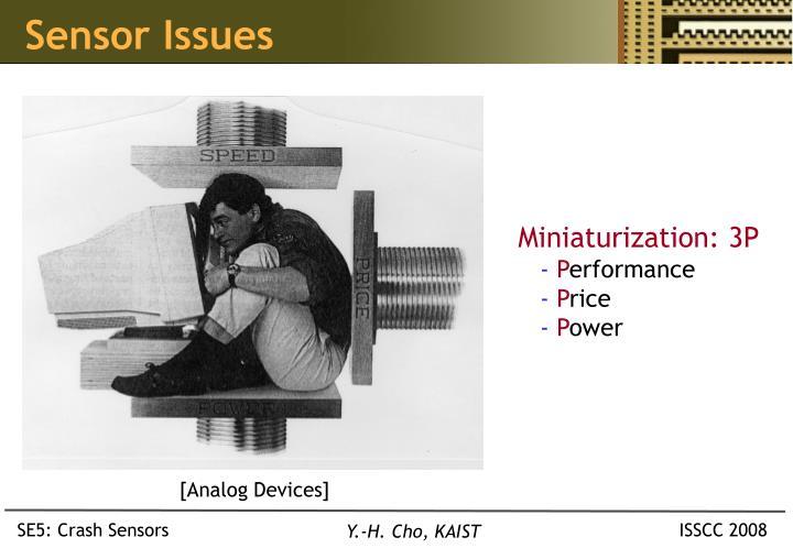 Sensor Issues