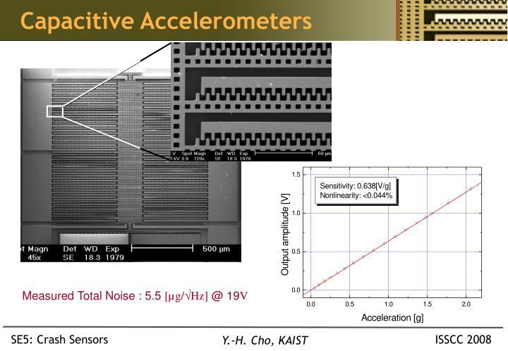 Capacitive Accelerometers