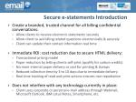 secure e statements introduction