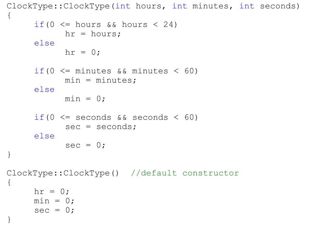 ClockType::ClockType(