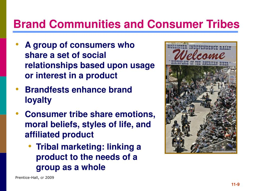 Brand Communities and Consumer Tribes