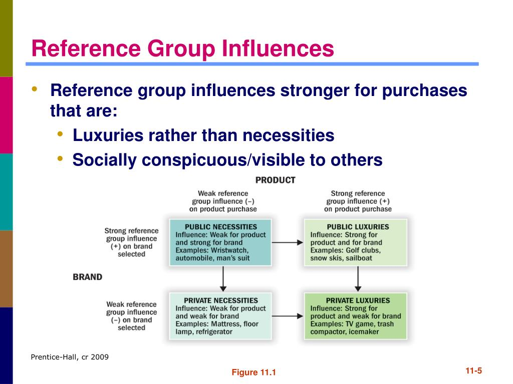 Reference Group Influences