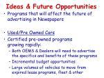 ideas future opportunities2