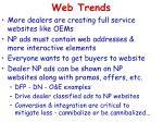 web trends