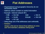 flat addresses