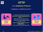 http is a stateless protocol26