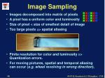 image sampling