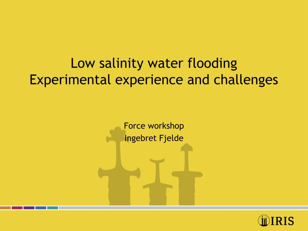 low salinity water flooding experimental experience and challenges l.