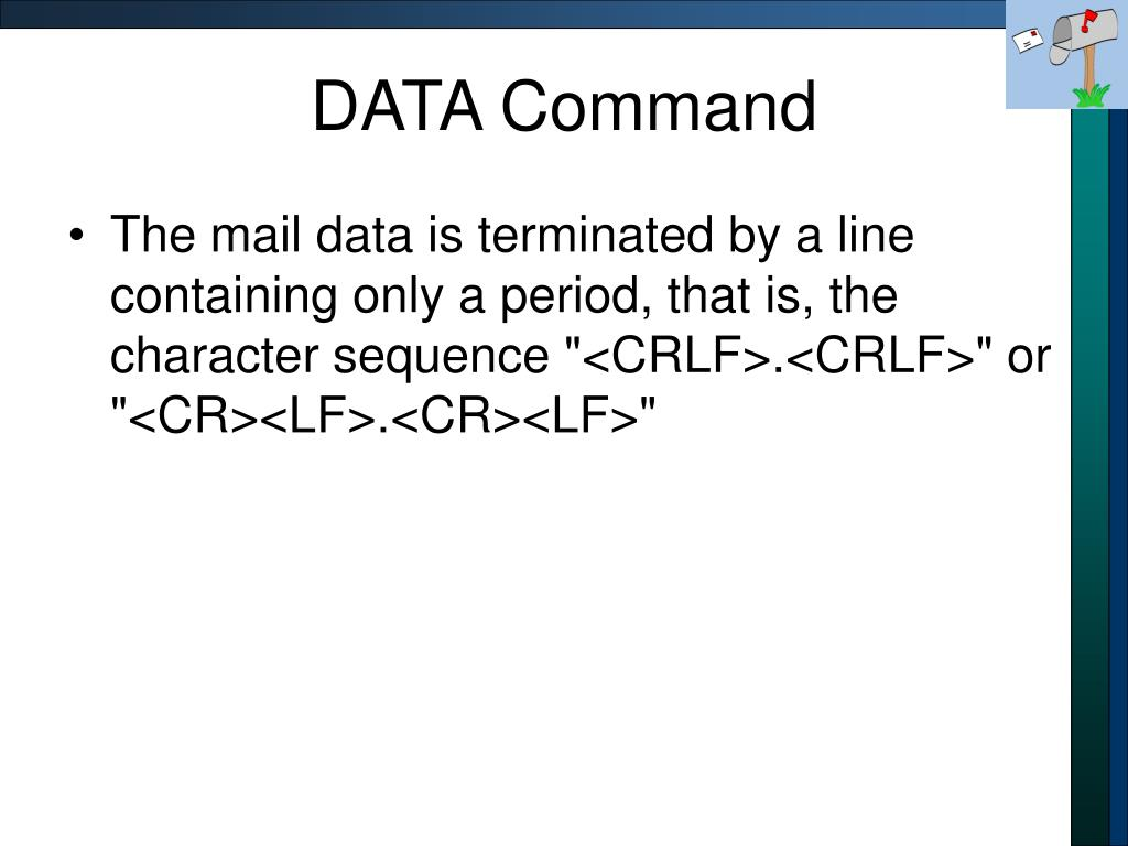 DATA Command