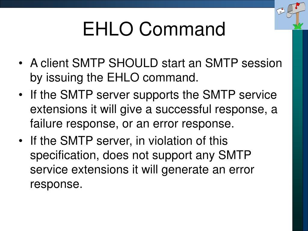 EHLO Command