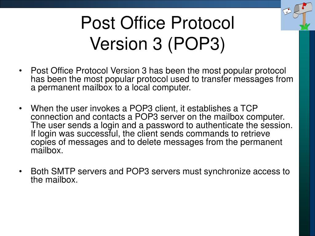 Post Office Protocol
