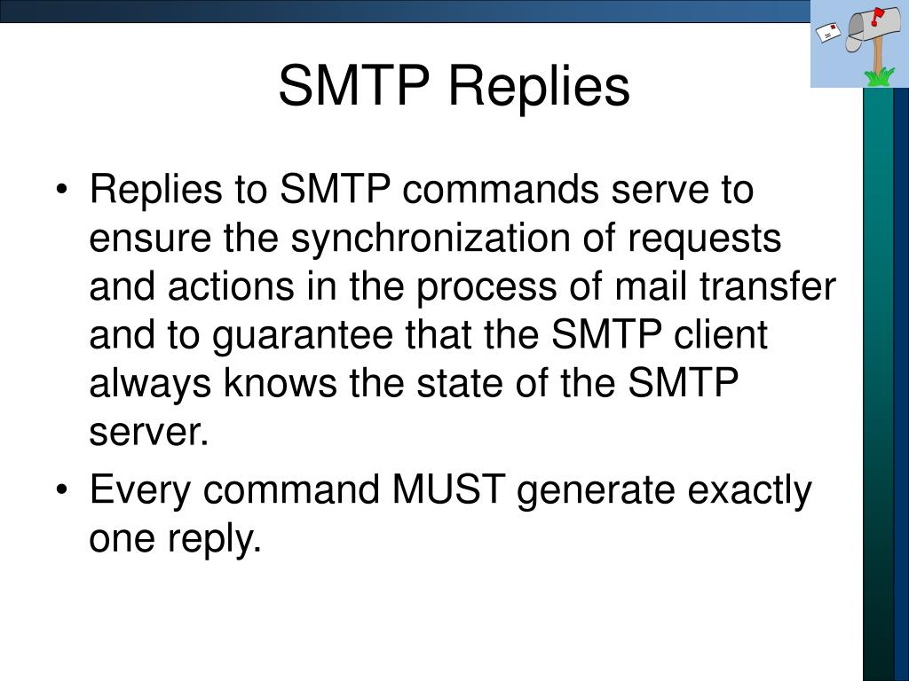 SMTP Replies