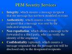 pem security services