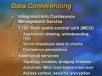 data conferencing