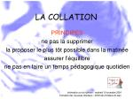 la collation34