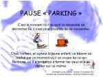 pause parking49