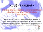 pause parking50