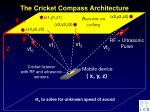 the cricket compass architecture