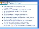 the messages