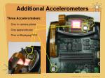 additional accelerometers