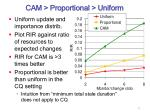 cam proportional uniform