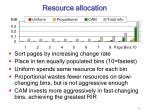 resource allocation17