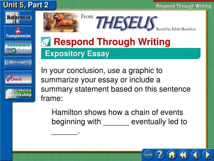 Expository Essay