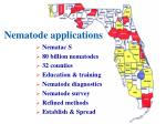 nematode applications