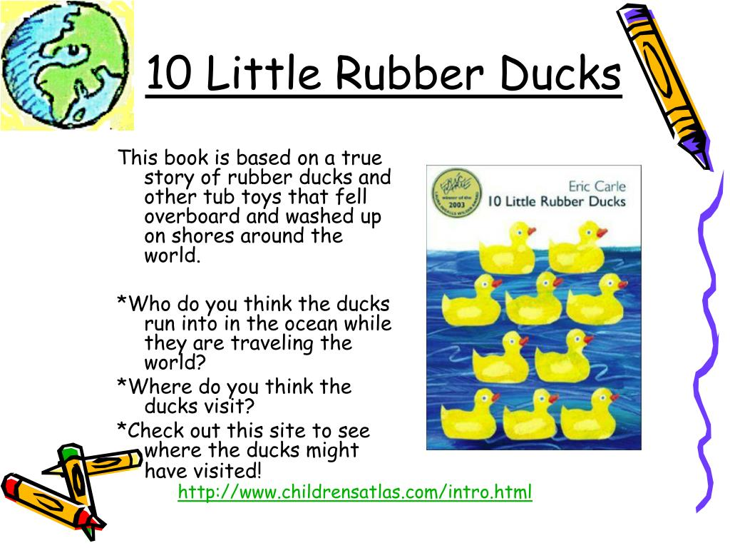 This book is based on a true story of rubber ducks and other tub toys that fell overboard and washed up on shores around the world.