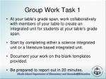 group work task 1
