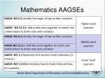 mathematics aagses