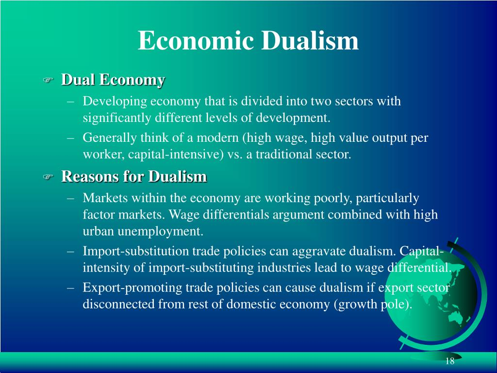 Economic Dualism