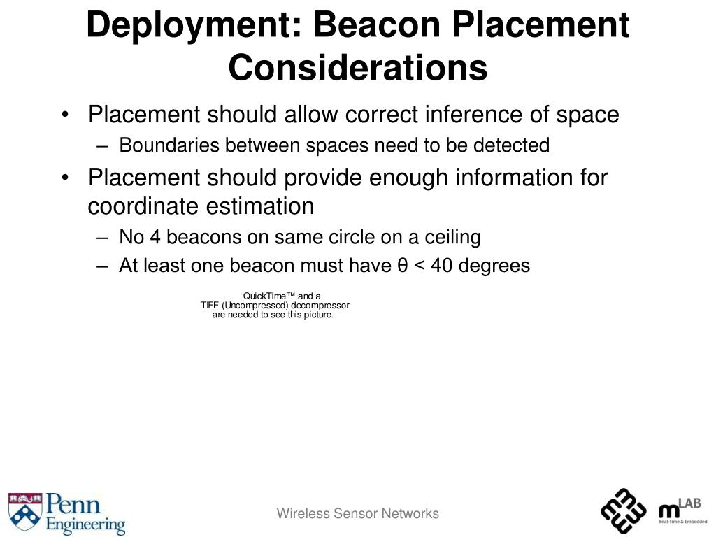 Deployment: Beacon Placement