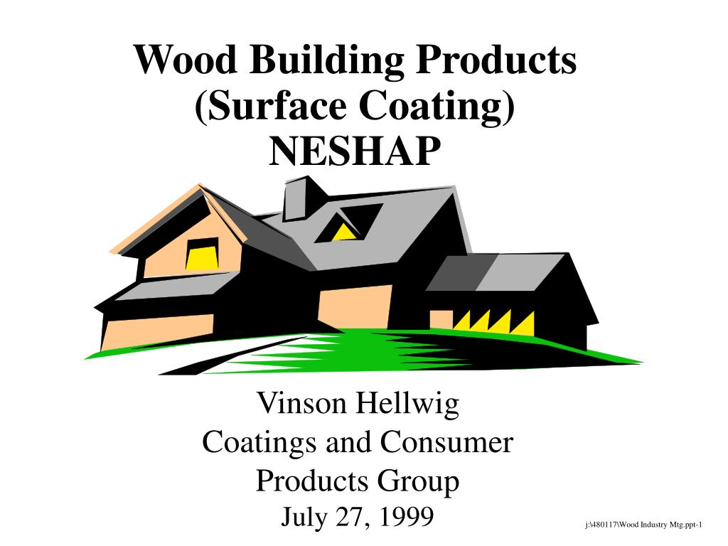 wood building products surface coating neshap l.