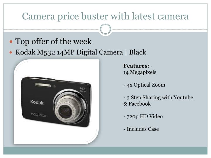 camera price buster with latest camera n.