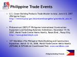 philippine trade events