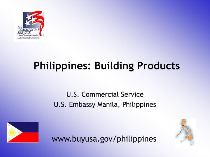 Philippines building products