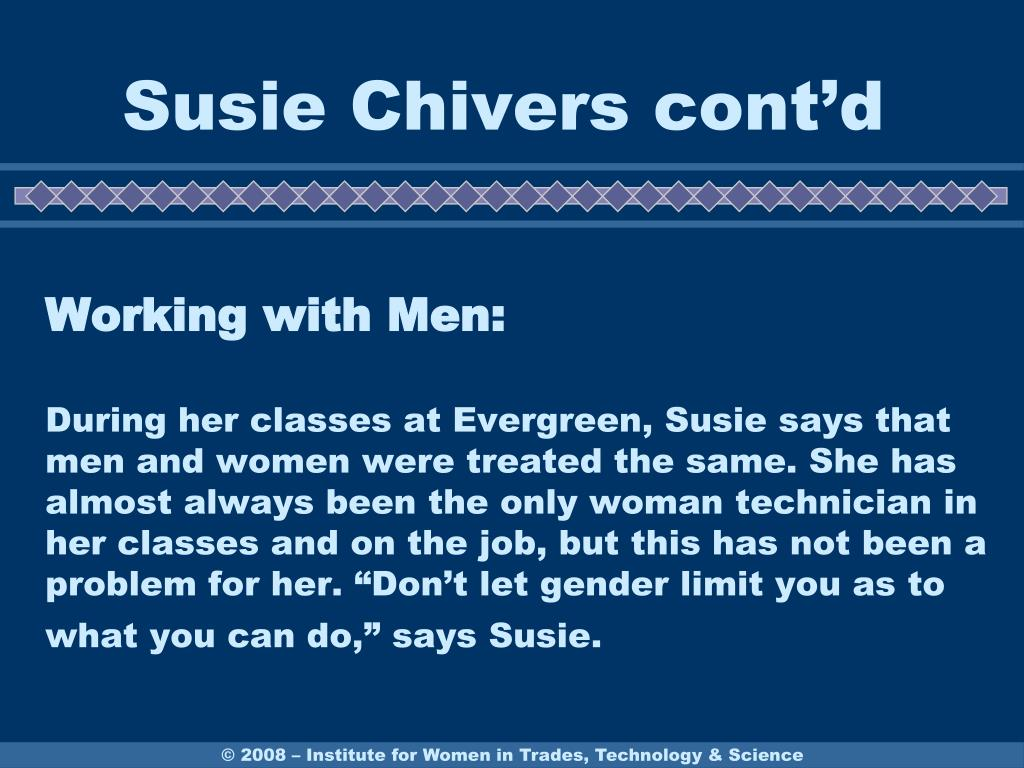 Susie Chivers cont'd