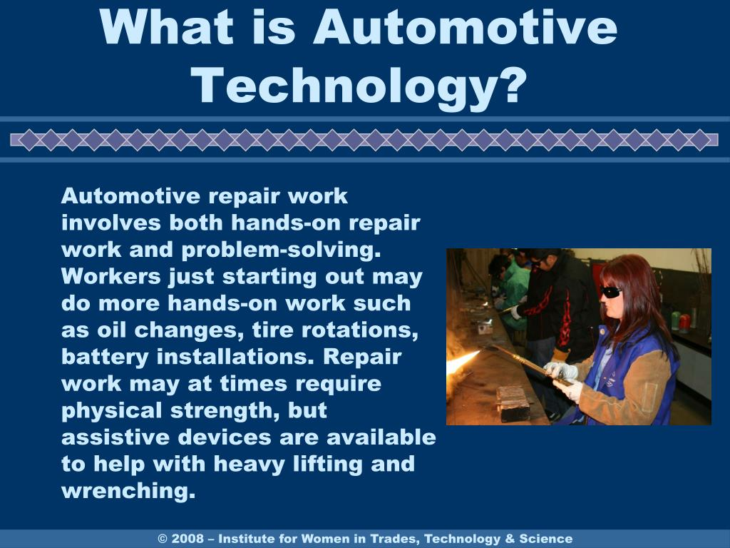What is Automotive Technology?